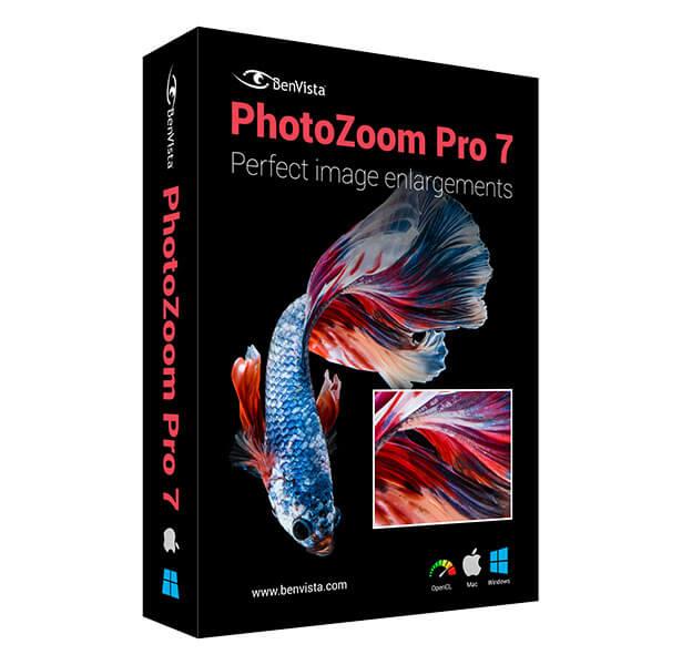 PhotoZoom Pro 7.0.4 免安装绿色版(图片无损放大神器)